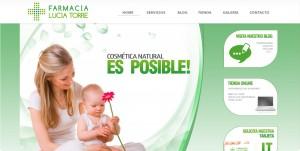 Pantallazo Web Lucía Torre
